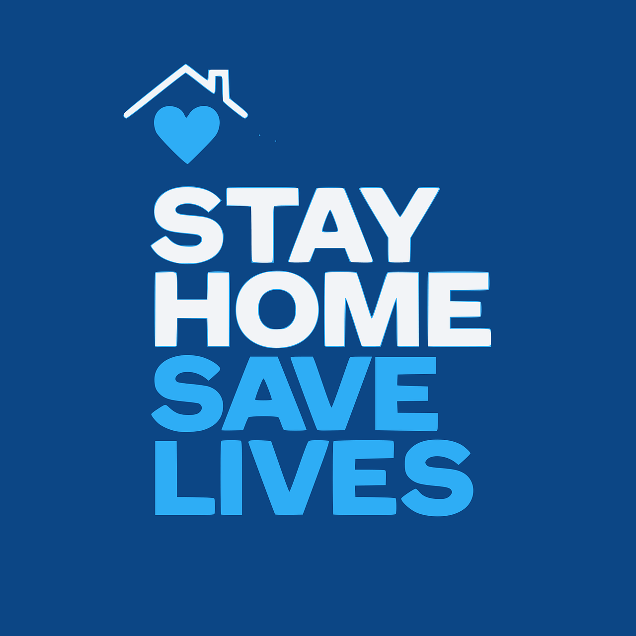 Stay Home Save Lives -Santosh Yoga Institute