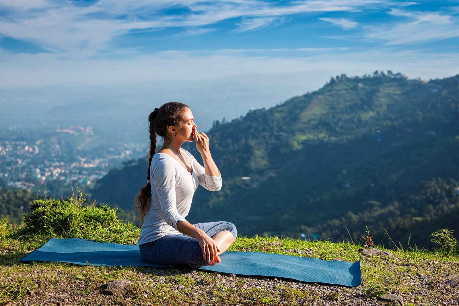 Pranayam: A Breath of Fresh Air for Your Lungs - Santosh Yoga Institute
